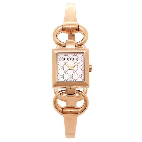 【送料無料】グッチ 時計 レディース GUCCI トルナウ゛ォーニ 腕時計 ウォッチ シルバー/ピンクゴールド