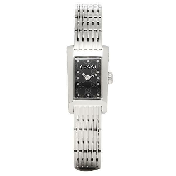 【送料無料】グッチ 時計 レディース GUCCI Gメトロ 腕時計 ウォッチ ブラック/シルバー