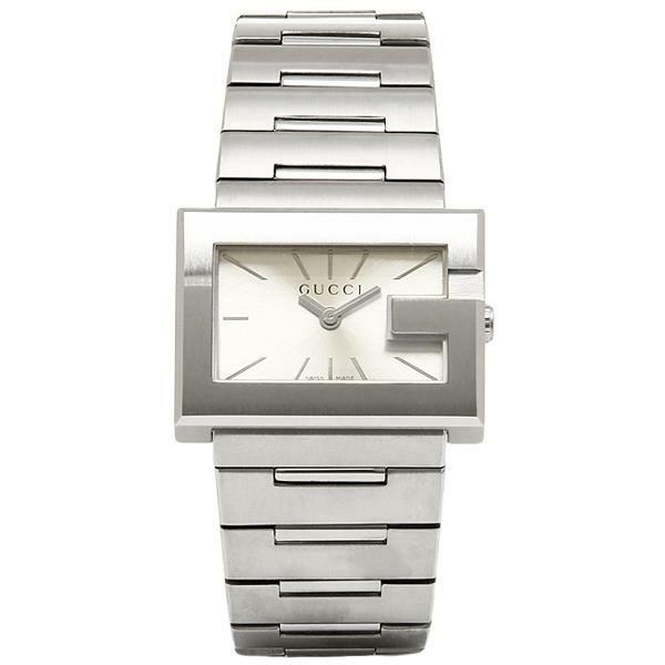 【送料無料】グッチ 時計 レディース GUCCI Gレクタングル 腕時計 ウォッチ シルバー