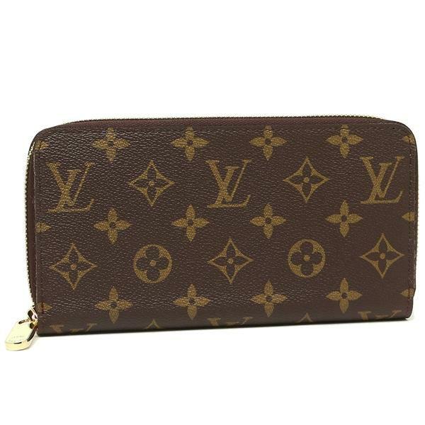 【送料無料】ルイヴィトン 長財布 レディース LOUIS VUITTON M41896 ブラウン レッド