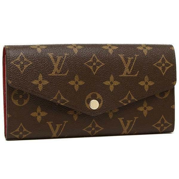 【送料無料】ルイヴィトン 長財布 レディース LOUIS VUITTON M62234 ブラウン ピンク